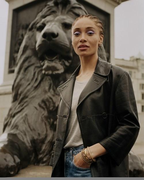 Adwoa Aboah for Rimmel London (PRNewsfoto/Rimmel London)