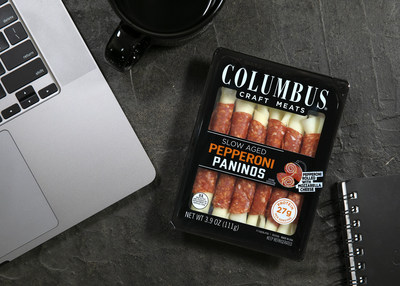 New COLUMBUS® Pepperoni Paninos are convenient for entertaining and snacking.