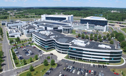 IBM Research's Albany facility located at the Albany Nanotech Complex. IBM has created a world leading semiconductor research ecosystem responsible for many industry firsts including 7 nm, 5nm, and now, 2 nm transistor technology. Courtesy of IBM.