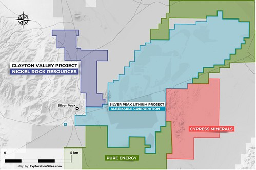 Clayton Valley Lithium Project Exploration Program Results