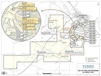 Figure 1: Location Map (CNW Group/Tarku Resources Ltd.)