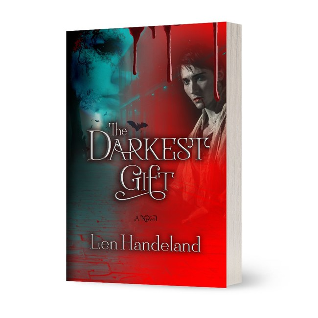 """Here is the cover of my book """"The Darkest Gift"""""""