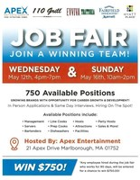 2 Job Fairs Hosted by 5 Companies Coming Soon in Marlborough!