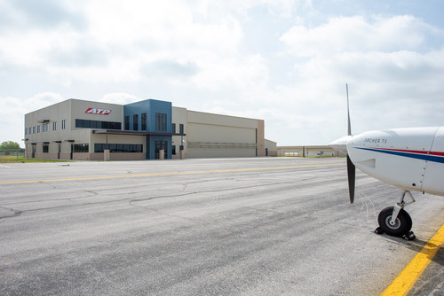 The new Arlington facility joins ATP's 60 other locations to increase capacity and train 20,000 airline pilots over the next ten years.