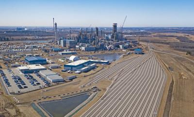 Inter Pipeline's Heartland Petrochemical Complex in Strathcona County, Alberta. Q2, 2021. (CNW Group/Inter Pipeline Ltd.)