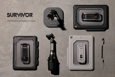 """Survivor All-Terrain and Endurance cases for the iPad 10.2"""" are equipped with features to heighten productivity for a range of consumer and business applications."""