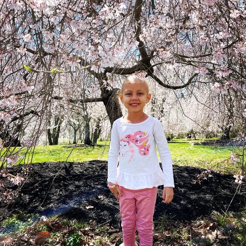 Doctors diagnosed Maddie Fell with High-Risk (Stage 4) Hepatoblastoma before her fifth birthday.