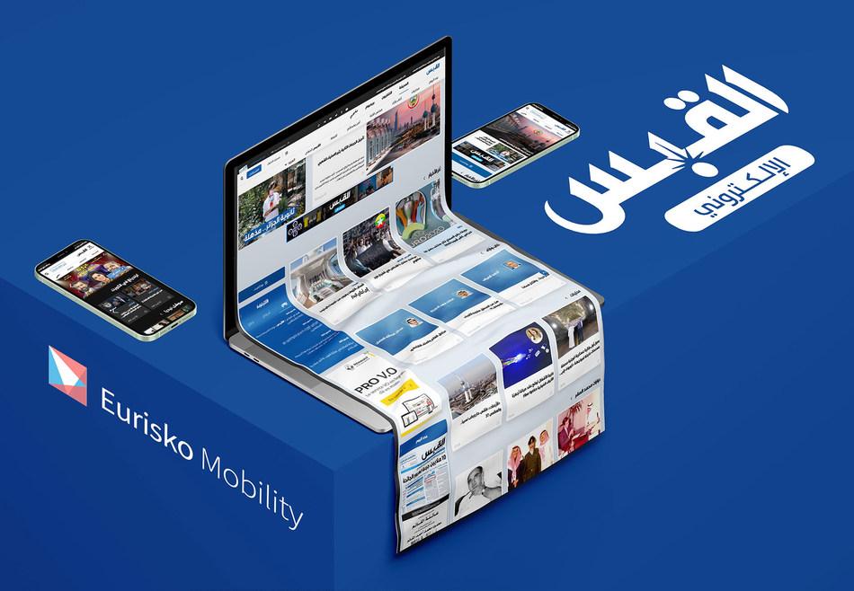 Eurisko Mobility & Al-Qabas release a cutting-edge AI-powered digital platform (PRNewsfoto/Al-Qabas,Eurisko Mobility)