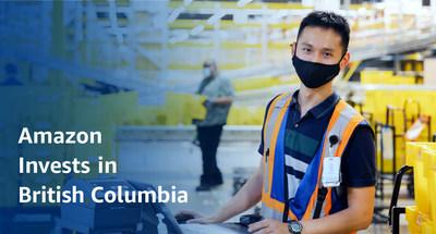Amazon Invests in British Columbia (CNW Group/Amazon Canada)