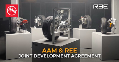 AAM and REE Automotive to Jointly Develop New Electric Propulsion System for e-Mobility