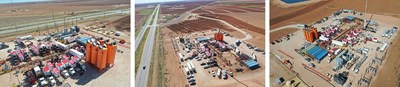 U.S. Well Services Announces Successful Electric Fracturing Field Trial with Callon Petroleum (PRNewsfoto/U.S. Well Services, Inc.)