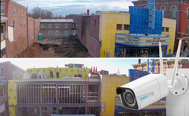 Reolink assists in the renovation and expansion project of a non-profit community theater in Pennsylvania.