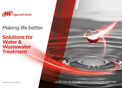 Ingersoll Rand launched its range of water and wastewater treatment solutions.