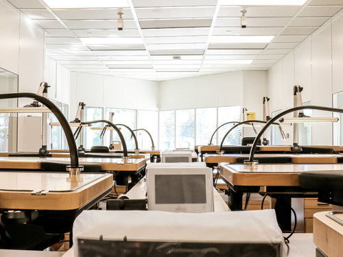This image shows our watchmakers' new desks and state-of-the-art equipment.