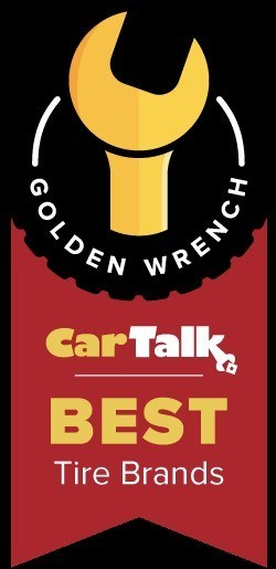 Michelin swept Car Talk's Golden Wrench Awards for tires.