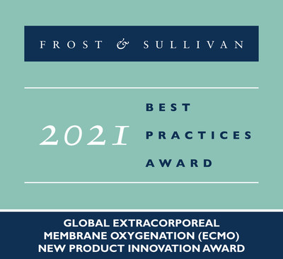2021 Global Extracorporeal Membrane Oxygenation (ECMO) New Product Innovation Award