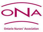 Ontario Nurses' Association Members to Mark Nursing Week Under a Cloud