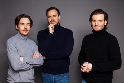 Bitpanda founders: Christian Trummer, Paul Klanschek, Eric Demuth