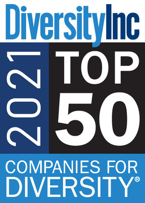 2021 Top 50 Companies for Diversity