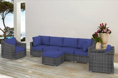 The Cherokees - 7pc Outdoor Sofa Set