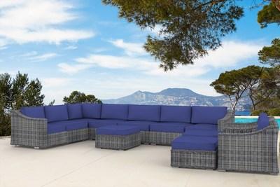 The Truman- 12pc Outdoor Patio Furniture