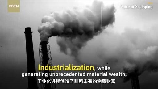 Xi Jinping hace un llamamiento a una mayor armonía entre los seres humanos y la naturaleza