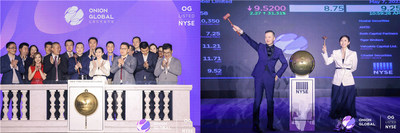 Onion Global Limited lists on NYSE