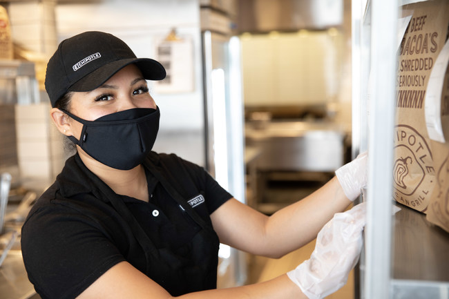 Chipotle announced it is increasing restaurant wages resulting in a $15 average hourly wage by the end of June. The company is looking to hire 20,000 employees across the U.S. with starting wage ranges from $11-$18 per hour to support current demand and future growth.