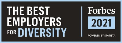 TE Connectivity has been named among The Best Employers for Diversity by Forbes.