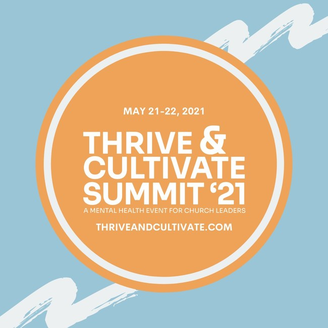 Registration is now free for all pastors and church leaders at thriveandcultivate.com