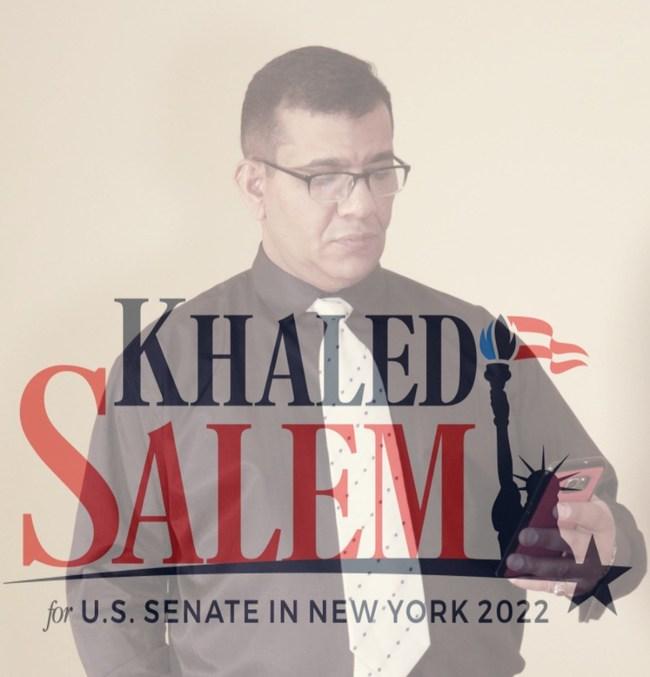 American Human Rights CEO and U.S. Senate Candidate Khaled Salem