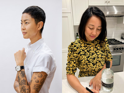 Kristen Kish (left) and Carolyn Kim (right)