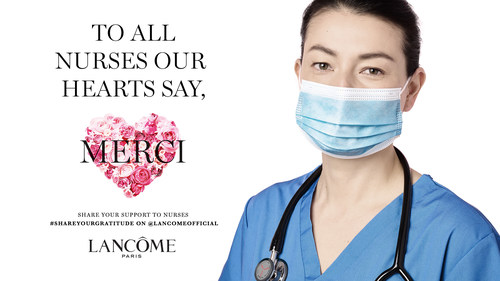 Lancôme International Nurses Day Campaign Image