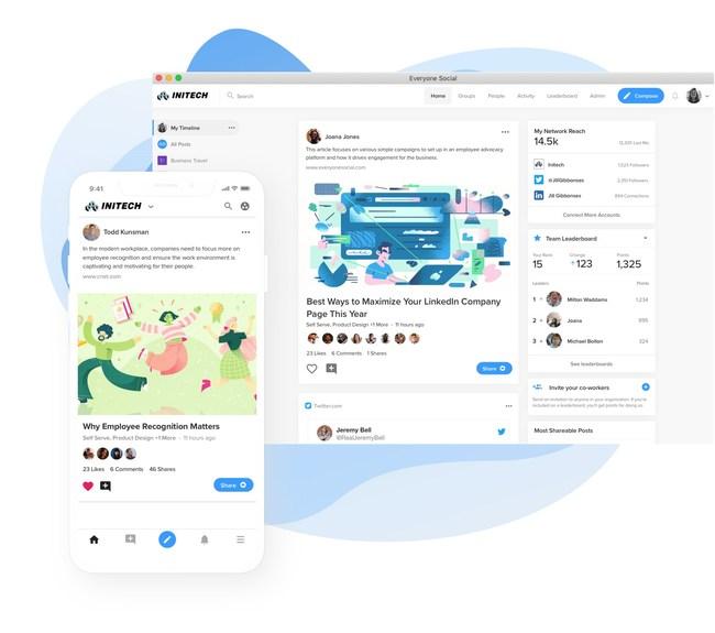 EveryoneSocial platform and mobile app.