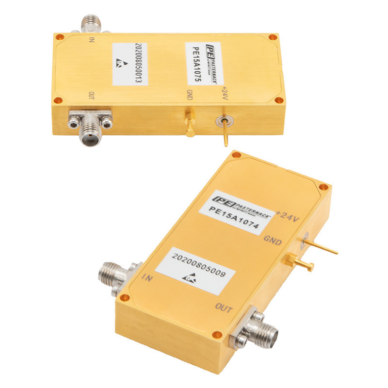 Pasternack Debuts New Input Protected Low Noise Amplifiers