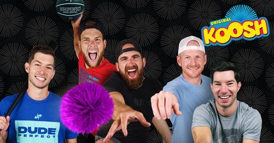 PLAYMONSTER PARTNERS WITH DUDE PERFECT TO KICK OFF SUMMER KOOSH LAUNCH (CNW Group/PlayMonster LLC)