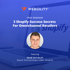 Webgility and Shopify Offer Free Omnichannel Commerce Webinar