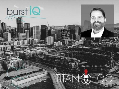 Frank Ricotta, CEO of BurstIQ, receives 2021 Titan 100 Award