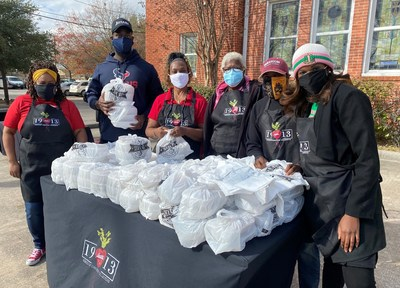 Lucille's 1913 is a Houston-based conscious community collective that's provided first responders, elders, and Texans in need with food throughout the pandemic and recent winter storms, and is building a vertically integrated ecosystem to combat food insecurity and waste.