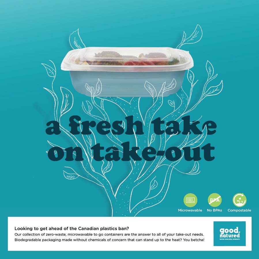 a fresh take on take-out (CNW Group/Good Natured Products)