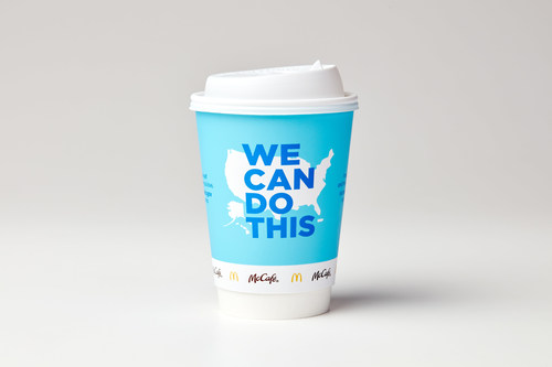 McDonald's Partners with the Biden Administration on the 'We Can Do This' Campaign