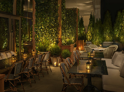 The Terrace and Outdoor Gardens at The Times Square EDITION