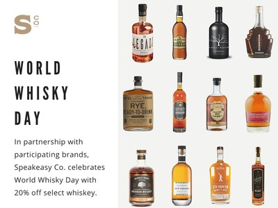 Speakeasy Co. Celebrates World Whisky Day Through E-Commerce Campaign With Partner Brands