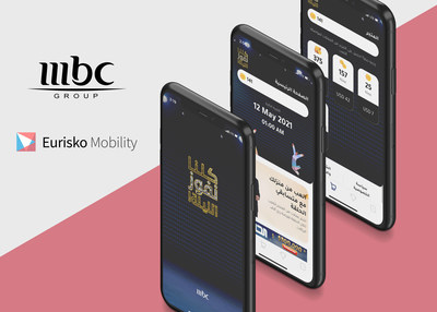 Eurisko Mobility, leader in digital transformation and enterprise mobile/web development, delivers real-time second-screen app for MBC Group's show in record time