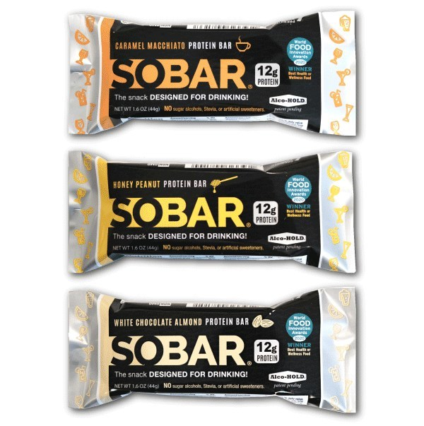 SOBAR is available in three delicious flavors.