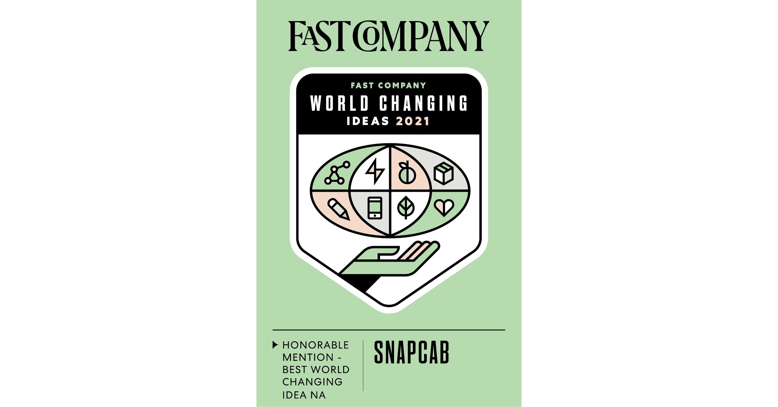 SnapCab Recognized by Fast Company's 2021 World Changing Ideas Awards for Isolation and Testing Pods