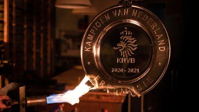 Ajax melts trophy for fans