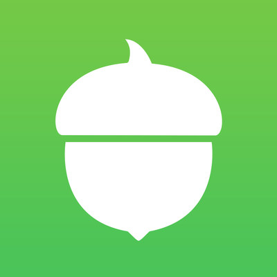 Acorns logo. (PRNewsFoto/Acorns Grow Inc.)