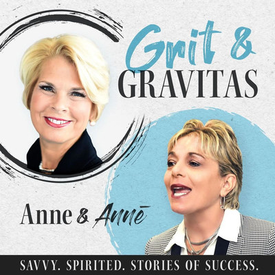 """""""We're building an essential content library of 30-minute business vitamins for women business owners and entrepreneurs,"""" says Deeter Gallaher, co-host of the podcast Grit & Gravitas: Savvy. Spirited. Stories of Success. """"Grit & Gravitas is about perseverance and presence—and we believe you need both these qualities to excel in business and life."""""""