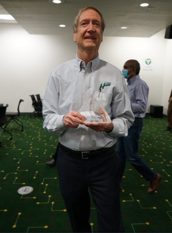 Vistage Lifetime Achievement Award Winner Mike Rydin, CEO of HCSS